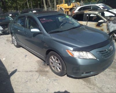 Salvage Turquoise 2008 Toyota Camry
