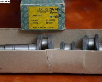 NOS 25/36 HP Crankshaft (111 105 101) West German