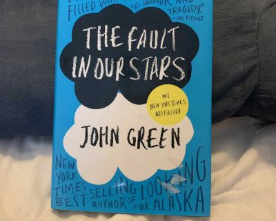 The Fault In Our Stars hardcover book by John Green