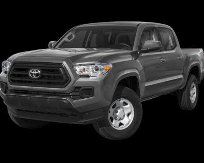 New 2021 Toyota Tacoma SR5 Double Cab 5' Bed V6 AT (Natl)