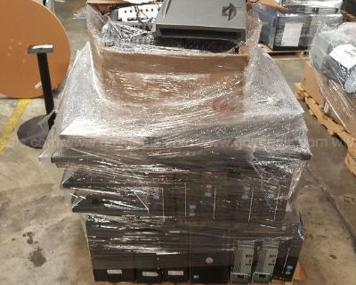 LOT OF COMPUTERS AND OTHER ITEMS ON 12 PALLETS