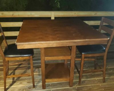Table Bar Top with two stools