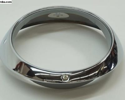 Porsche 911 Chrome Sealed Beam Headlight Trim Ring