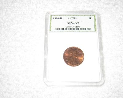 1980D Lincoln Penny