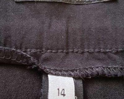 Apt 9 Black Pants, 14