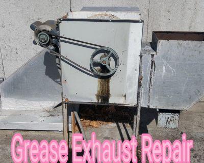 Restaturant Exhaust Fan Repair
