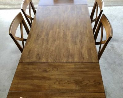 Haverty s~Solid Wood~Dining Table Set w/ 6 Chairs~READ BELOW