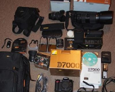 Digital SLR Camera, lenses and accessories