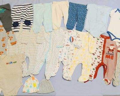 Baby boy clothes lot 3-6 months (19 items)