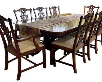 Elegant Lone Tree Colorado Estate W/ Karastan Rugs, Henkel Harris, Hekman,Gold, Gucci, Henredon, Wes