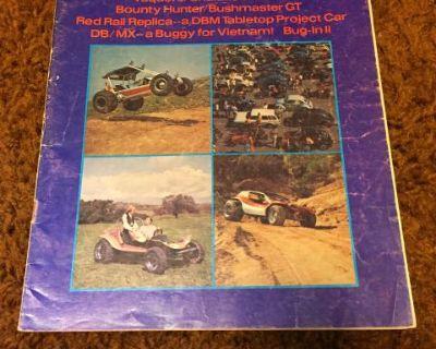 Dune Buggies The Fun Car Journal June 1969