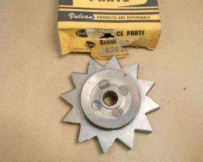 Gp2030 Generator Fan Pulley 3 In. 43/64 Shaft 3/8 Belt
