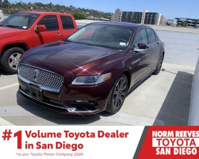 Pre-Owned 2017 Lincoln Continental Reserve FWD 4D Sedan
