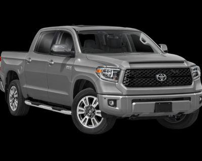 New 2021 Toyota Tundra Platinum CrewMax 5.5' Bed 5.7L (Natl)