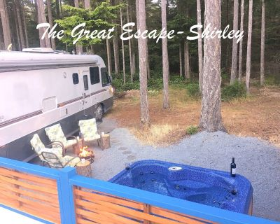 The Great Escape - Shirley - Secluded with Hot Tub - Otter Point