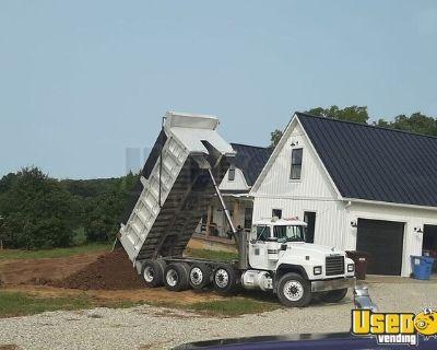 Ready to Load Used 2001 Mack RD688S Dump Truck 400hp Mack 8LL