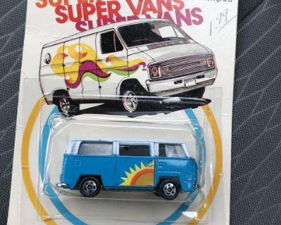 bay window vw bus 1979 MOC sealed super van