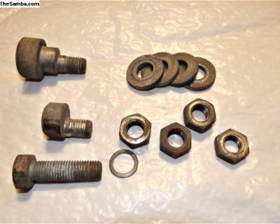 Porsche 911 Eccentric Bolts, washers and nuts