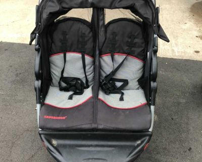 Expedition baby trend double stroller