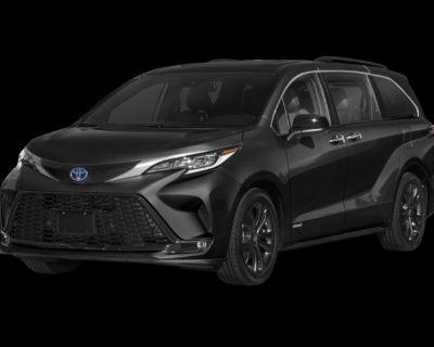 New 2021 Toyota Sienna XSE FWD 5 In-Tranist
