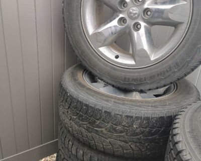 """20"""" Winter Tires and Rims"""