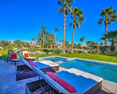 New! Desert Oasis w/ Private Pool & Spa, Covered Patio/sun Bathing by the River - Indio