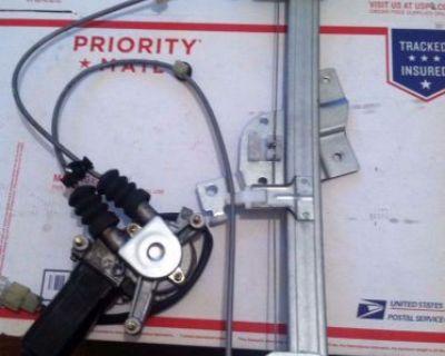90-97 Mazda Miata Mx5 Passenger R Electric Power Window Regulator With Motor Oem