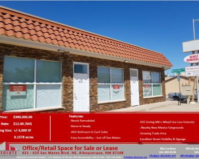 Office/Retail Space for Sale or Lease