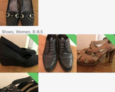 Various shoes for sale sizes 7 1/2/8/8 1/2 .see below for prices!