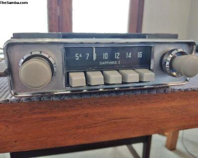 Sapphire I AM 6V Grey Radio - Restored