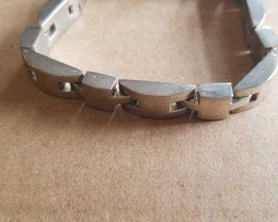 Solid 925 silver bracelet