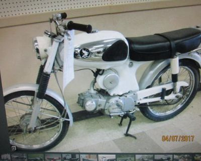 LOOKING FOR THE WHITE AND CHROME GAS TANK FROM MY 1966 HONDA S90. IT WAS TAKEN