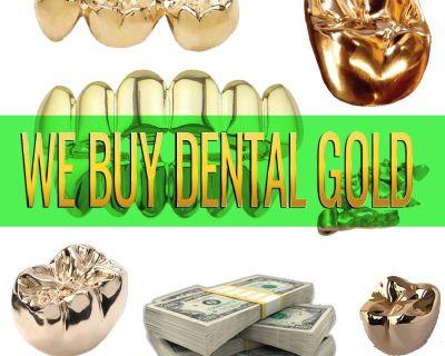 We Offer CASH for DENTAL GOLD