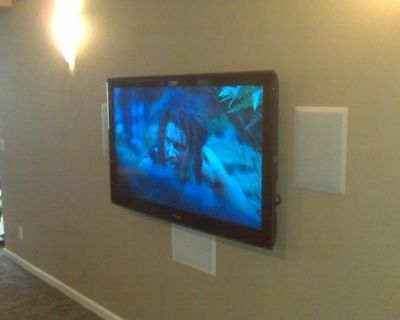 INSTALLATION OF LED, 3D, HDTV, PLASMA, TV, LCD, OR HOME THEATER IN DENVER, COLORADO!