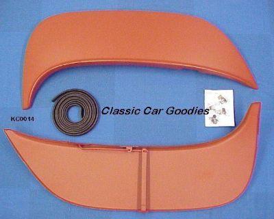 1965-1966 Chevy Biscayne Caprice Impala Fender Skirts