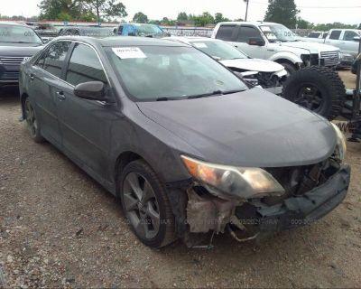 Salvage Gray 2014 Toyota Camry