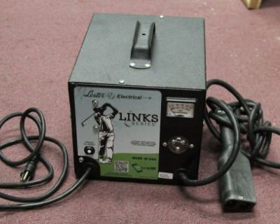 Lester Electrical Link Series Golf Cart Charger 2 Pin 25970