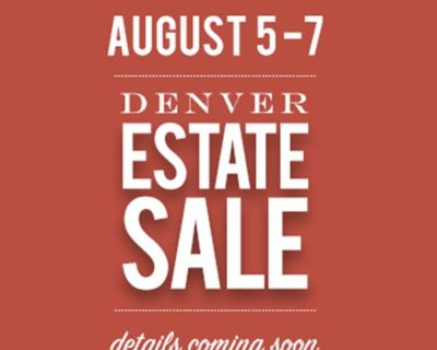 PACKED DENVER HOME Longtime collector of Art, Antiques + Collectibles