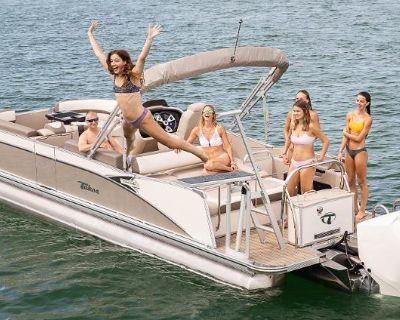 2022 Tahoe Pontoon CASCADE 25' VRL SPP - Tri-Toon
