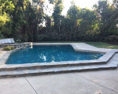 UPSCALE RETREAT PRIVATE POOL&JACUZZI HOME 4BR/3BA SLEEPS 7 IN BEDS - Woodland Hills