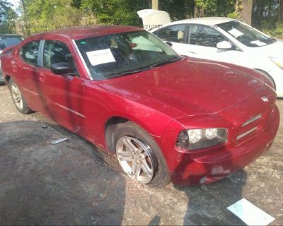 Salvage Red 2006 Dodge Charger