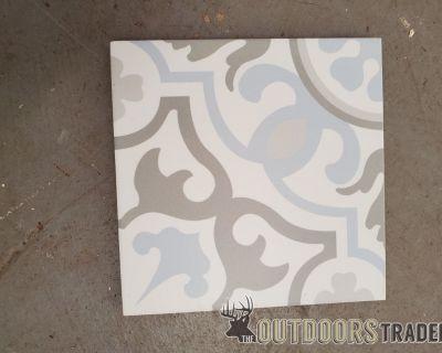 "FS/FT Ceramic Turkish floor tile 8""x8""x1/2"""