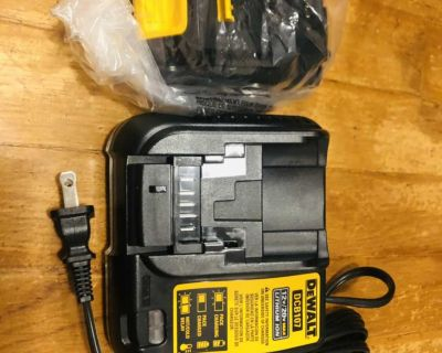Brand new Dewalt 20V Max/Lithium Ion 1.5Ah 30Wh Battery & Charger
