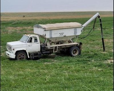 tender truck seed and fertilizer