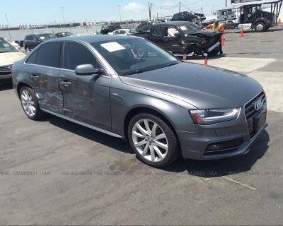 Salvage Gray 2014 Audi A4
