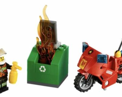 Lego 60000 city fire motorcycle
