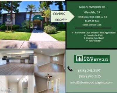 1428 Glenwood Rd, Glendale, CA 91201 3 Bedroom Apartment