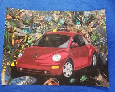 Nu Beetle Wall Poster Large