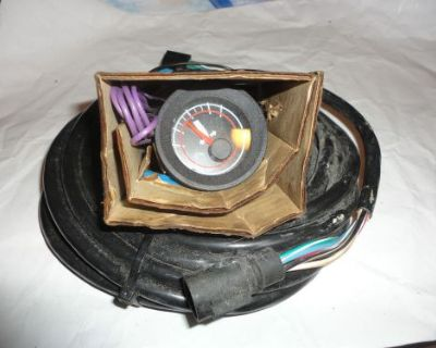Nos Omc 583654 / 583655 Trim Gauge With Harness @@@check This Out@@@