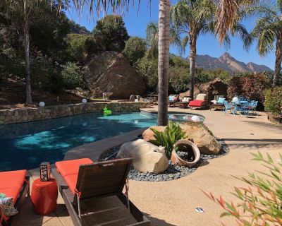 Malibu Guest House W/pool, Jacuzzi, Mountain Views, Fresh Air +nature - Los Angeles County